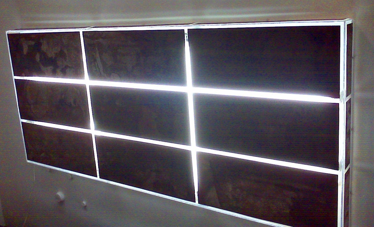 luce murale - opera di Giuliano Tosi